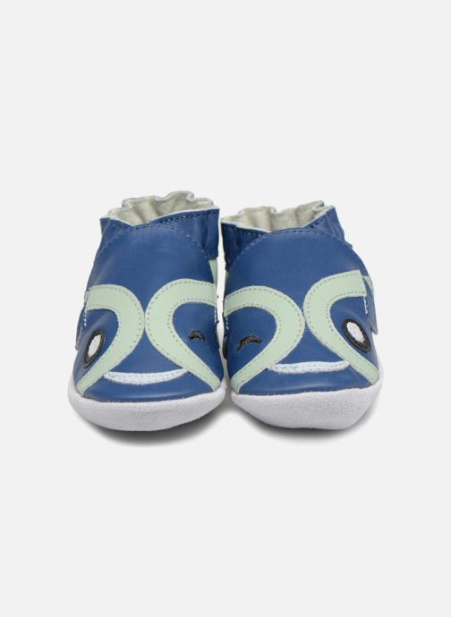Slippers Robeez BLINKING FISH Blue model view