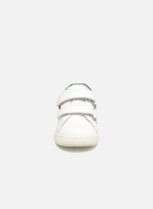 Baskets Chicco GIAN Blanc vue portées chaussures
