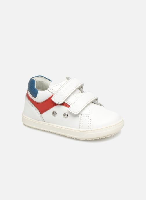 Trainers Chicco GIAN White detailed view/ Pair view
