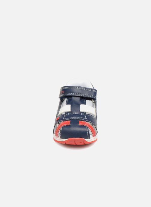 Sandales et nu-pieds Chicco GONEY Bleu vue portées chaussures
