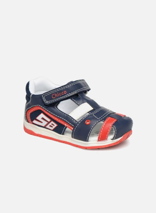 Sandales et nu-pieds Chicco GONEY Bleu vue détail/paire