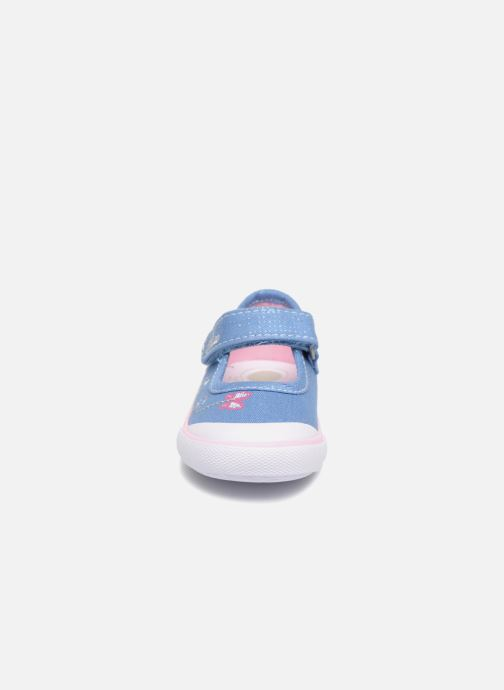 Ballerines Chicco GALEY Rose vue portées chaussures