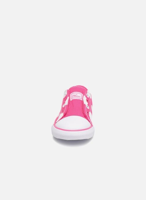 Baskets Chicco CHIS Rose vue portées chaussures