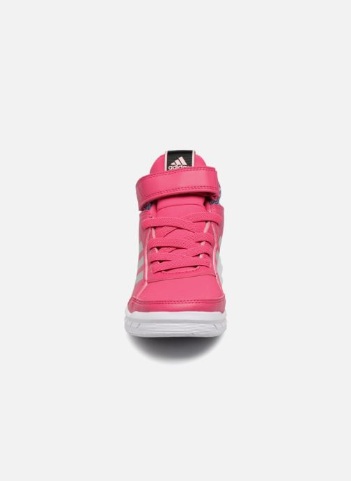 Baskets Adidas Performance AltaSport Mid BTW K Rose vue portées chaussures