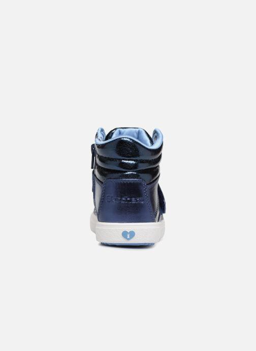 Sneakers Skechers Shoutouts 2.0 Blauw rechts