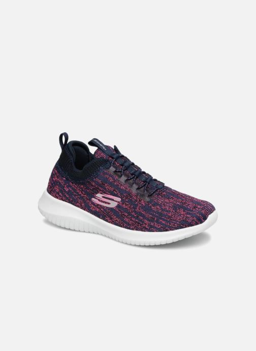 11a85e2902045 Chaussures de sport Skechers Ultra Flex Bright Horizon E Violet vue  détail paire