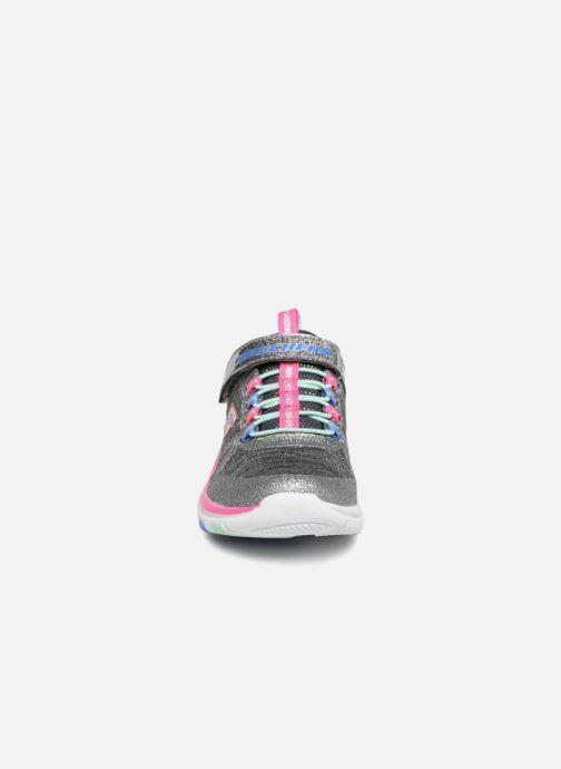 Zapatillas de deporte Skechers Trainer Lite Jazzy Jumper Gris vista del modelo