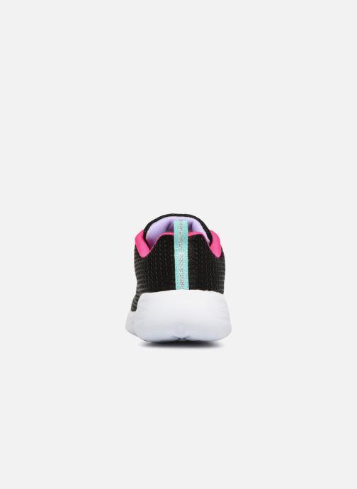Chaussures de sport Skechers Go Run 600 Fun Run Noir vue droite