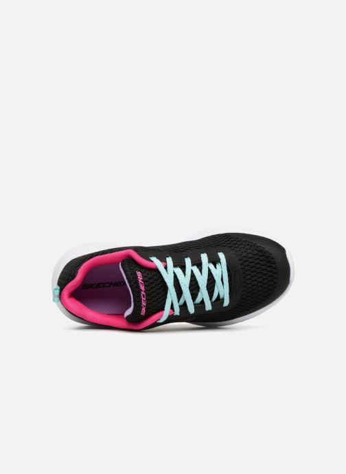 Chaussures de sport Skechers Go Run 600 Fun Run Noir vue gauche