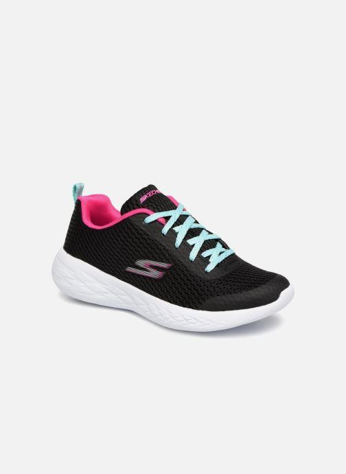 Chaussures de sport Skechers Go Run 600 Fun Run Noir vue détail/paire