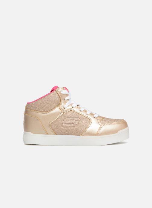 Baskets Skechers E-Pro Glitter Glow Or et bronze vue derrière