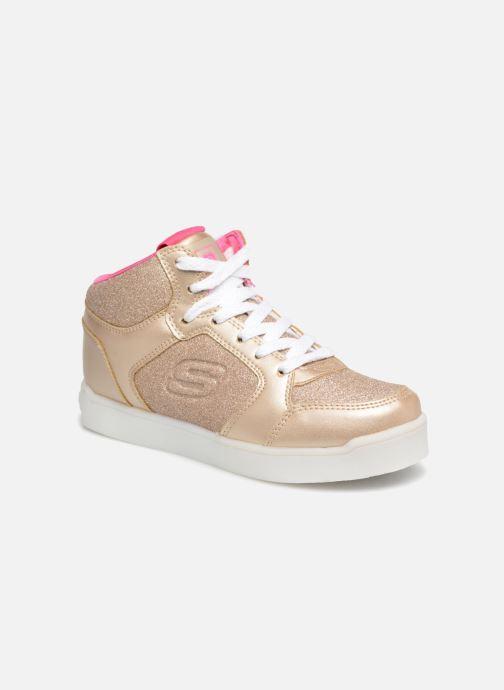 Baskets Skechers E-Pro Glitter Glow Or et bronze vue détail/paire