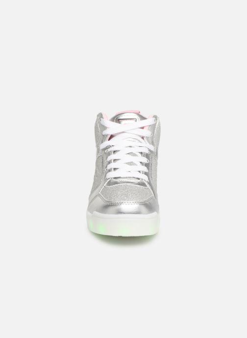 Baskets Skechers E-Pro Glitter Glow Argent vue portées chaussures