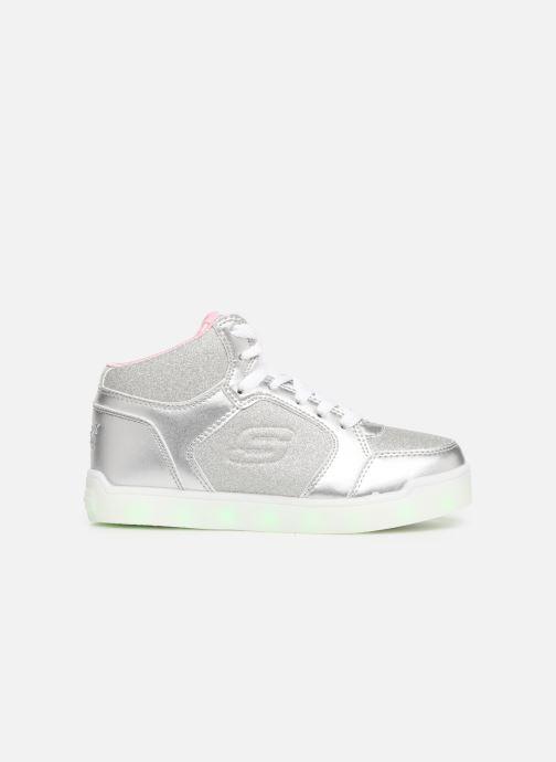 Baskets Skechers E-Pro Glitter Glow Argent vue derrière