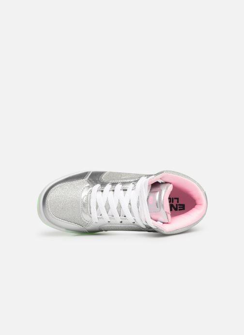 Baskets Skechers E-Pro Glitter Glow Argent vue gauche