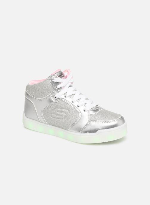 Deportivas Skechers E-Pro Glitter Glow Plateado vista de detalle / par