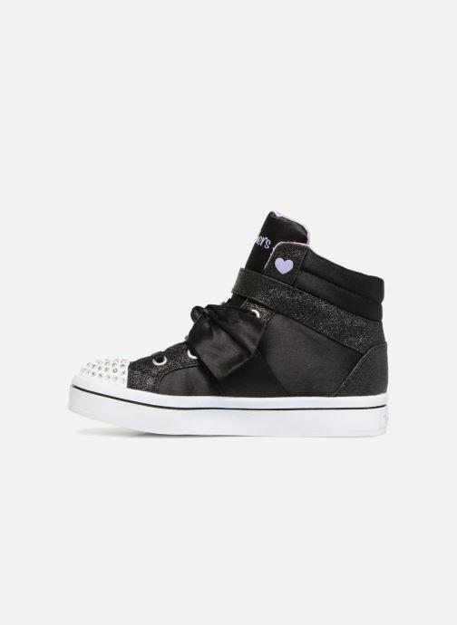 Sneakers Skechers Twi-Lites Bow Beautiful Zwart voorkant