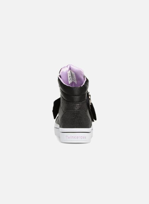 Baskets Skechers Twi-Lites Bow Beautiful Noir vue droite