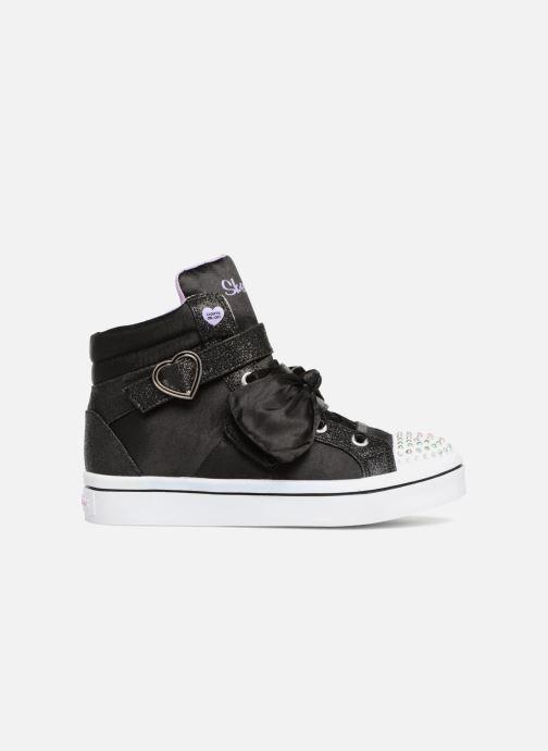 Sneakers Skechers Twi-Lites Bow Beautiful Zwart achterkant