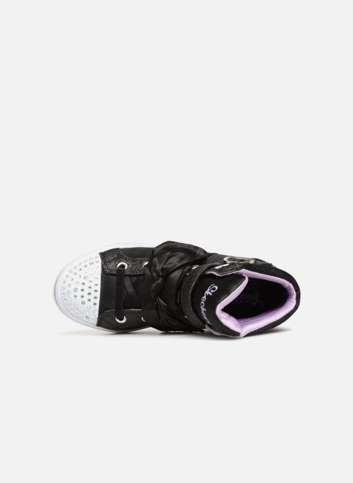 Baskets Skechers Twi-Lites Bow Beautiful Noir vue gauche