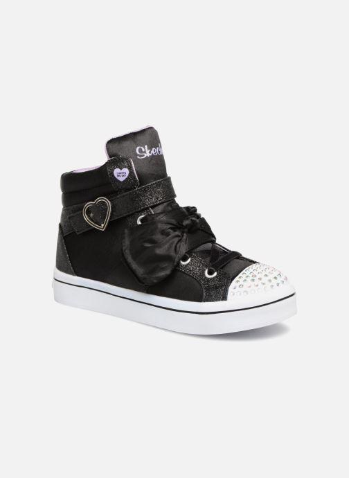 Sneakers Skechers Twi-Lites Bow Beautiful Zwart detail