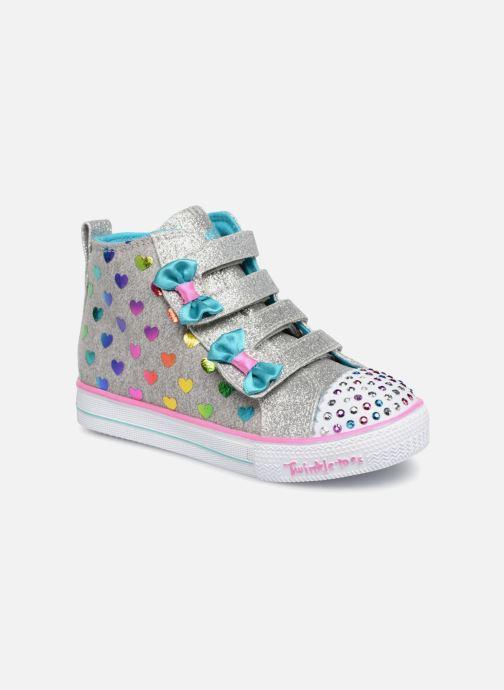 Sneakers Skechers Suffles Lite Fancy Flutters Argento vedi dettaglio/paio