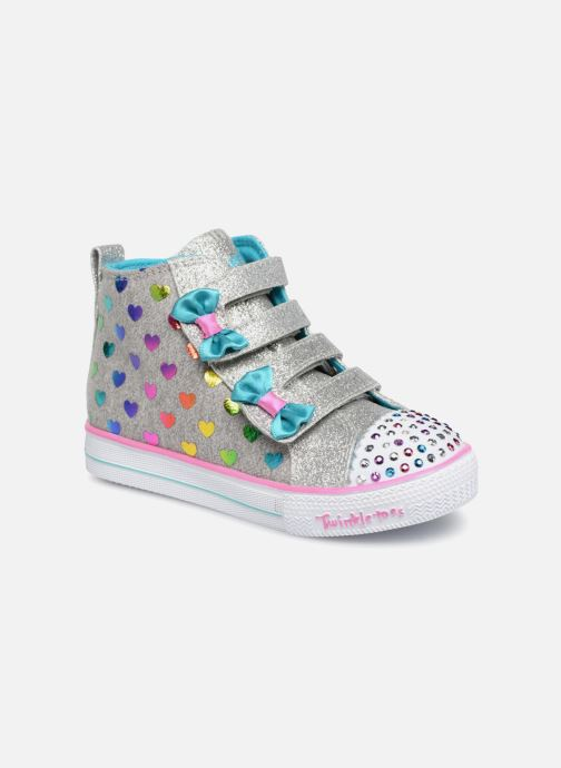 9a314b105133 Trainers Skechers Suffles Lite Fancy Flutters Silver detailed view  Pair  view