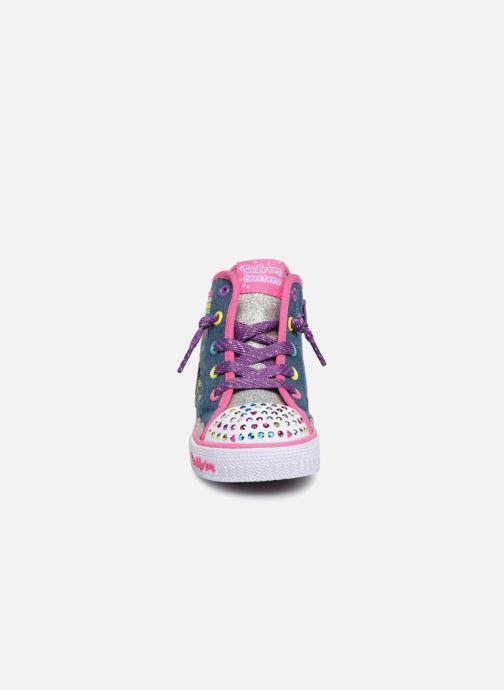 Sneakers Skechers Shuffles Rainbow Blauw model