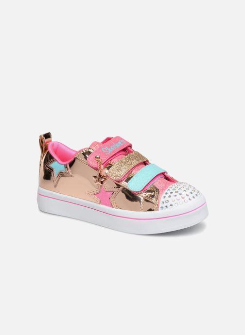 Sneakers Skechers Twi-Lites Oro e bronzo vedi dettaglio/paio