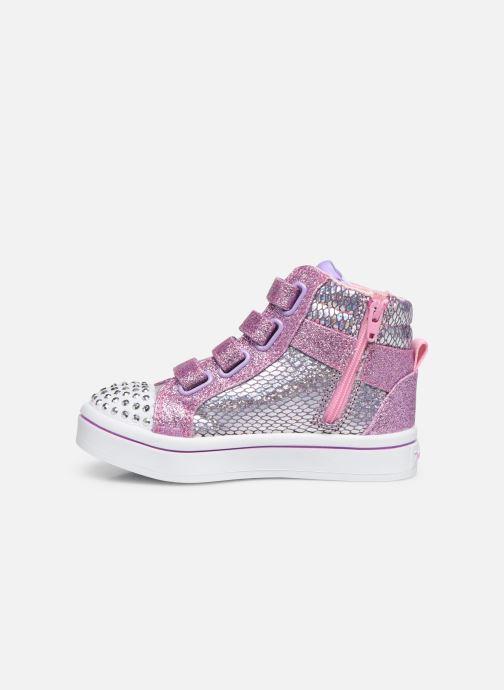 Sneakers Skechers Twi-Lites Zilver voorkant