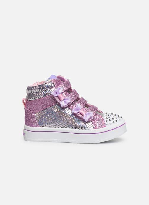 Sneakers Skechers Twi-Lites Zilver achterkant