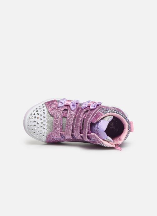 Sneakers Skechers Twi-Lites Zilver links