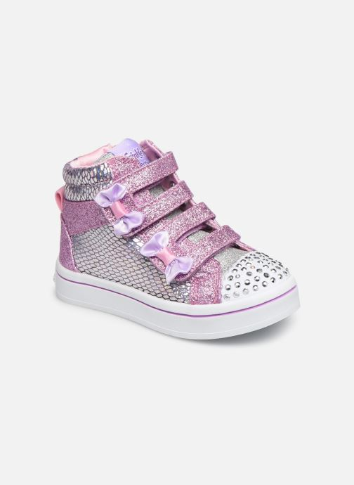 Sneakers Skechers Twi-Lites Zilver detail