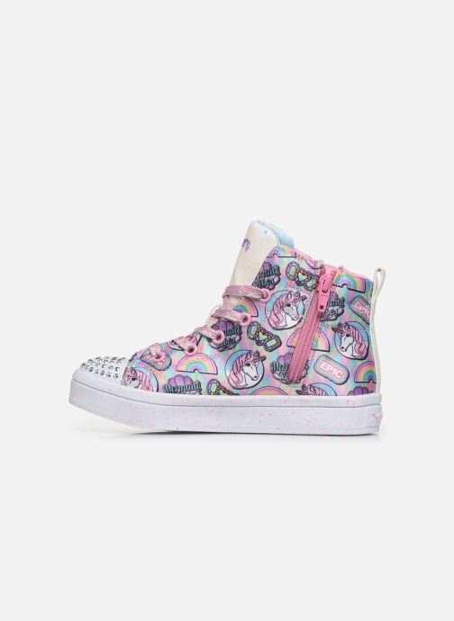 Baskets Skechers Twi-Lites Multicolore vue face