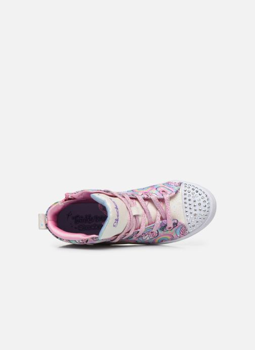 Baskets Skechers Twi-Lites Multicolore vue gauche
