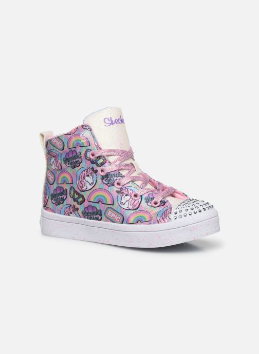 Baskets Skechers Twi-Lites Multicolore vue détail/paire