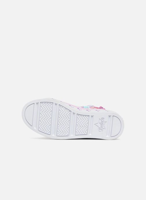 Deportivas Skechers Twi-Lites Princess Party Rosa vista de arriba