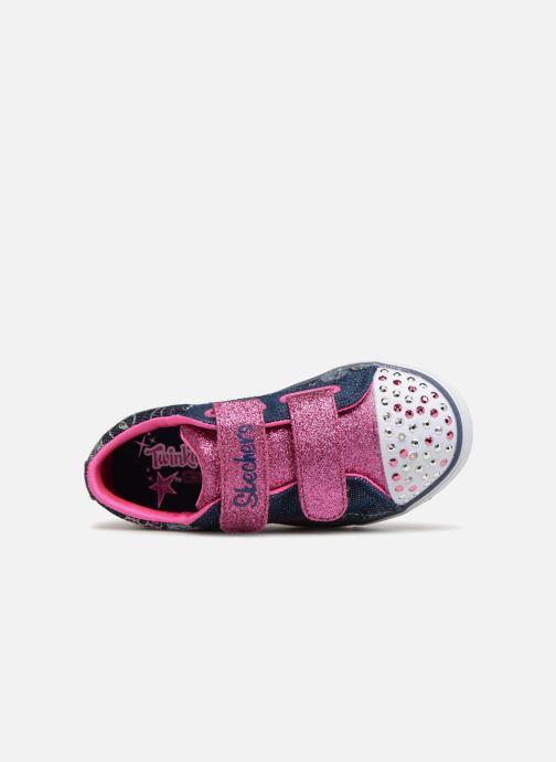 Sneakers Skechers Sparkle Glitz Denim Daisy Multicolor links