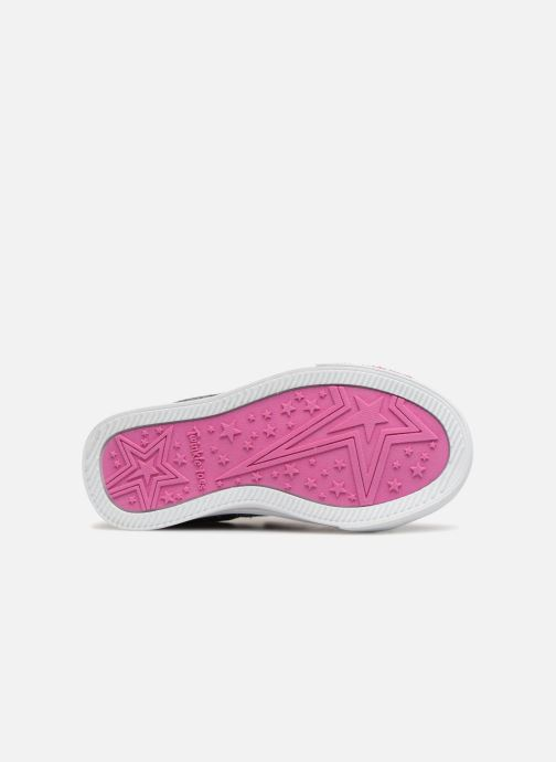 Sneakers Skechers Sparkle Glitz Denim Daisy Multicolor boven