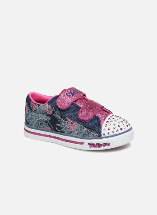 Sneakers Skechers Sparkle Glitz Denim Daisy Multicolor detail