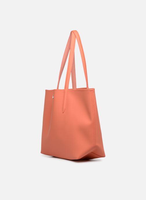 Borse Lacoste ANNA Arancione modello indossato