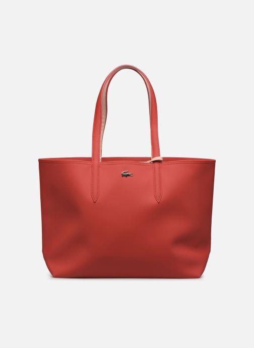 Sacs à main Lacoste Anna Réversible Bicolore Shopping Bag Rouge vue détail/paire