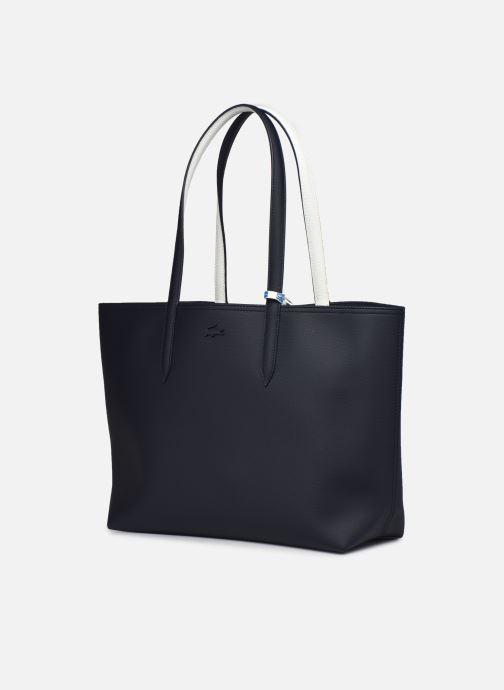 Handtaschen Lacoste Anna blau schuhe getragen