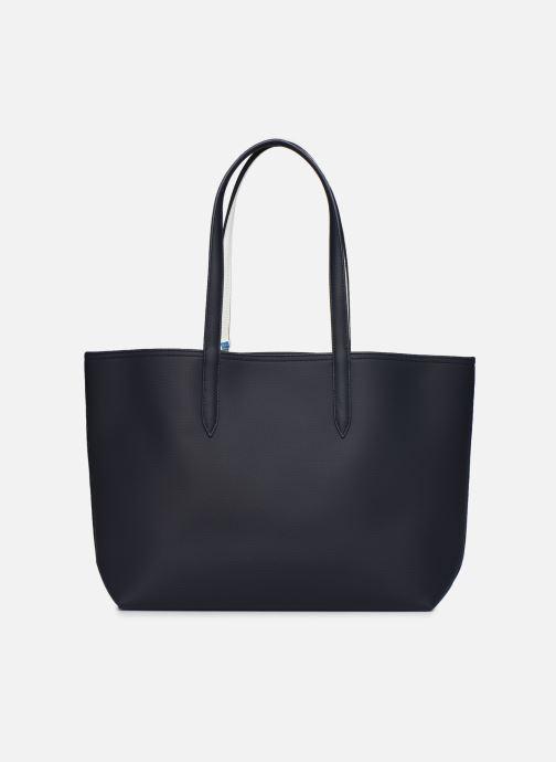 Handtaschen Lacoste Anna blau ansicht von vorne