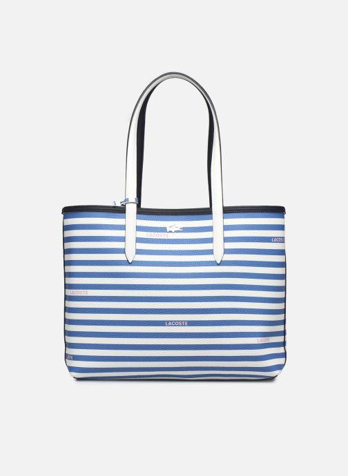 Handtaschen Lacoste Anna blau ansicht von hinten