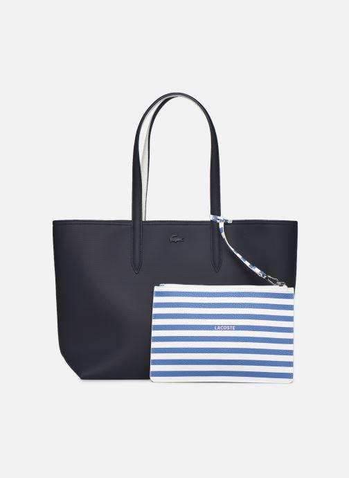 Handtaschen Lacoste Anna blau ansicht von links