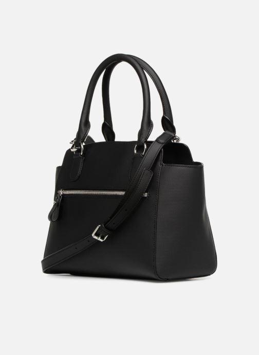 Handtaschen Lacoste DAILY CLASSIC Bag schwarz ansicht von rechts