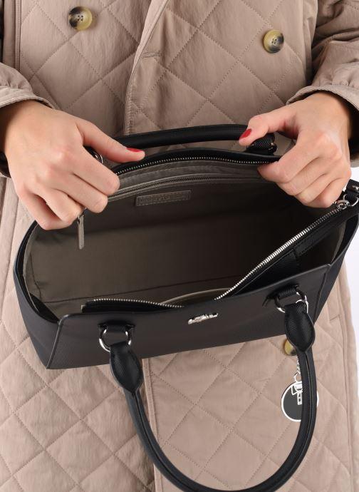 Sacs à main Lacoste Daily Classic Shopping Bag Noir vue derrière