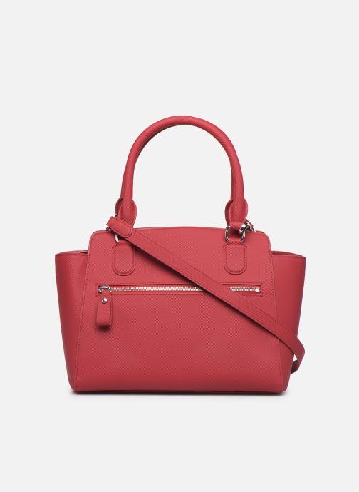 Handtaschen Lacoste Daily Classic Shopping Bag weinrot ansicht von vorne