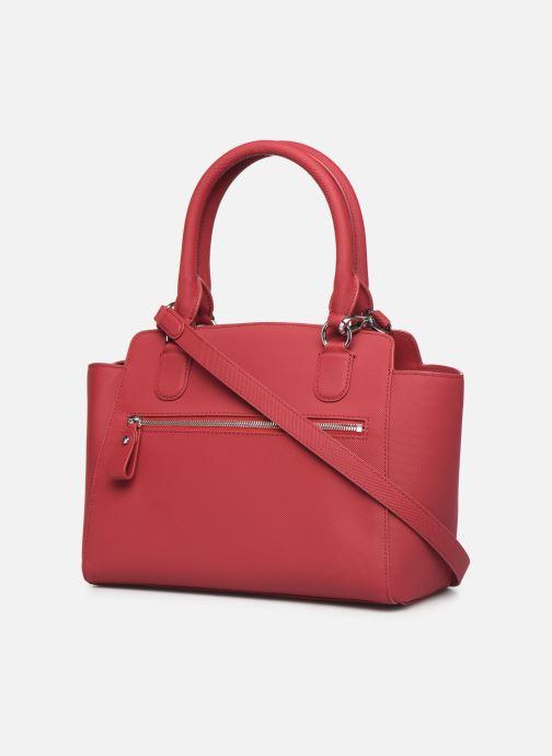 Handtaschen Lacoste DAILY CLASSIC Bag weinrot ansicht von rechts